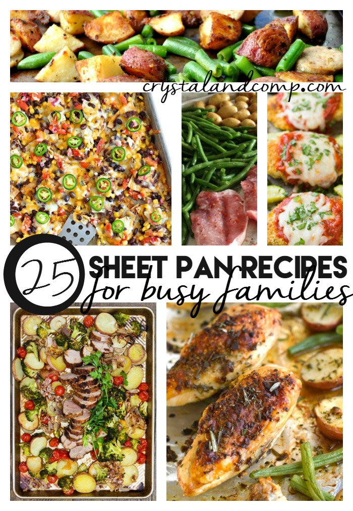 25 sheet pan recipes for busy families