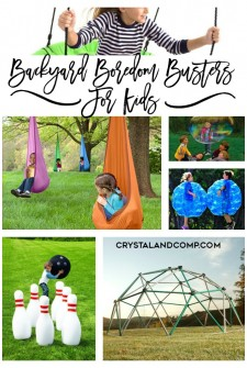 25 Backyard Boredom Busters For Kids