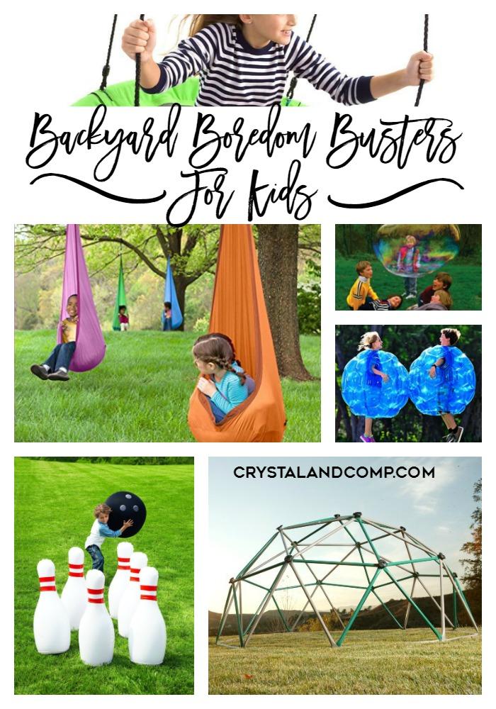 backyard boredom busters for kids