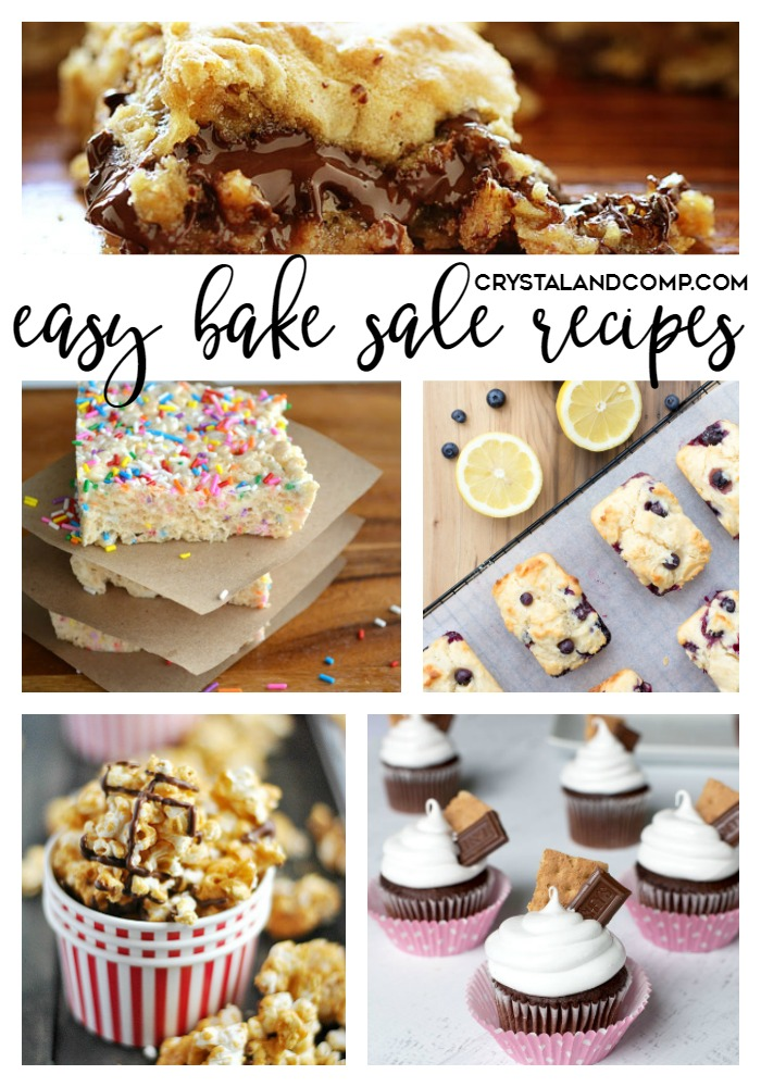 easy bake sale recipes people will be begging to buy