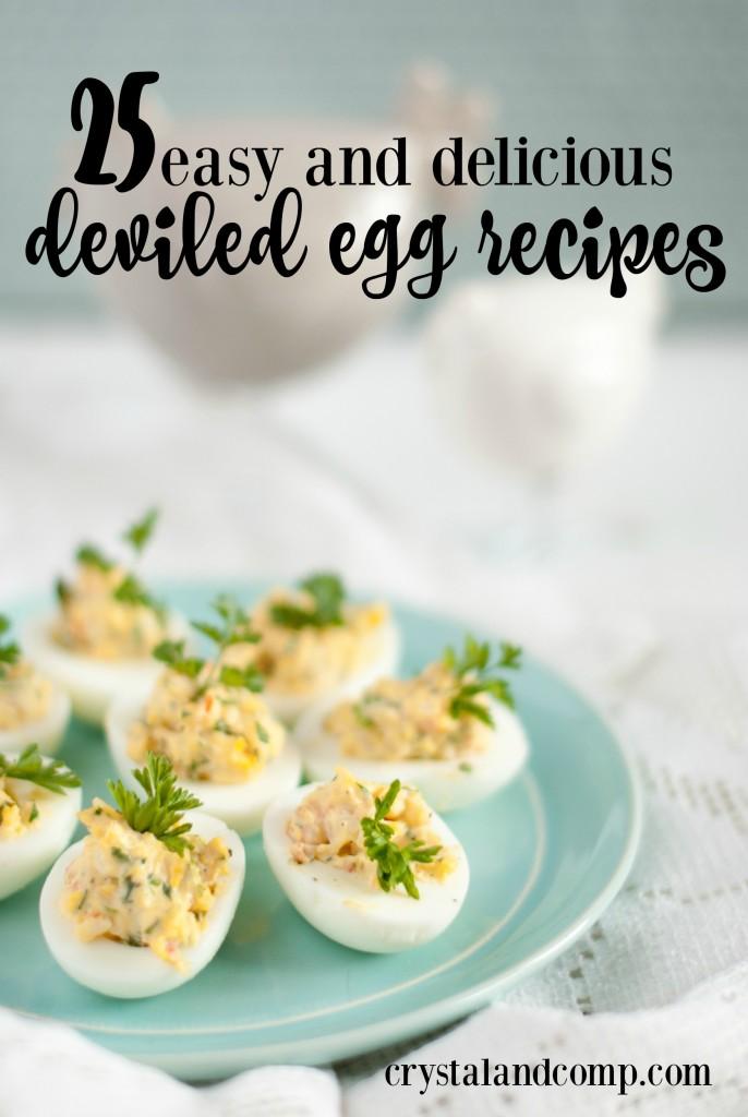 easy deviled egg recipes