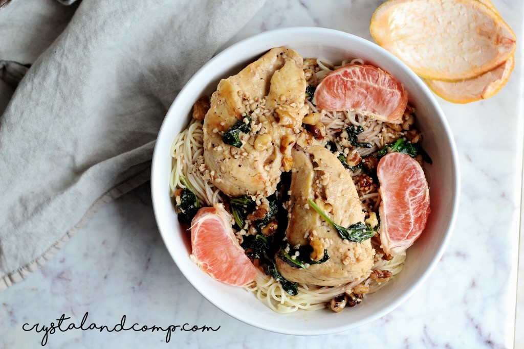 grapefruit chicken pasta