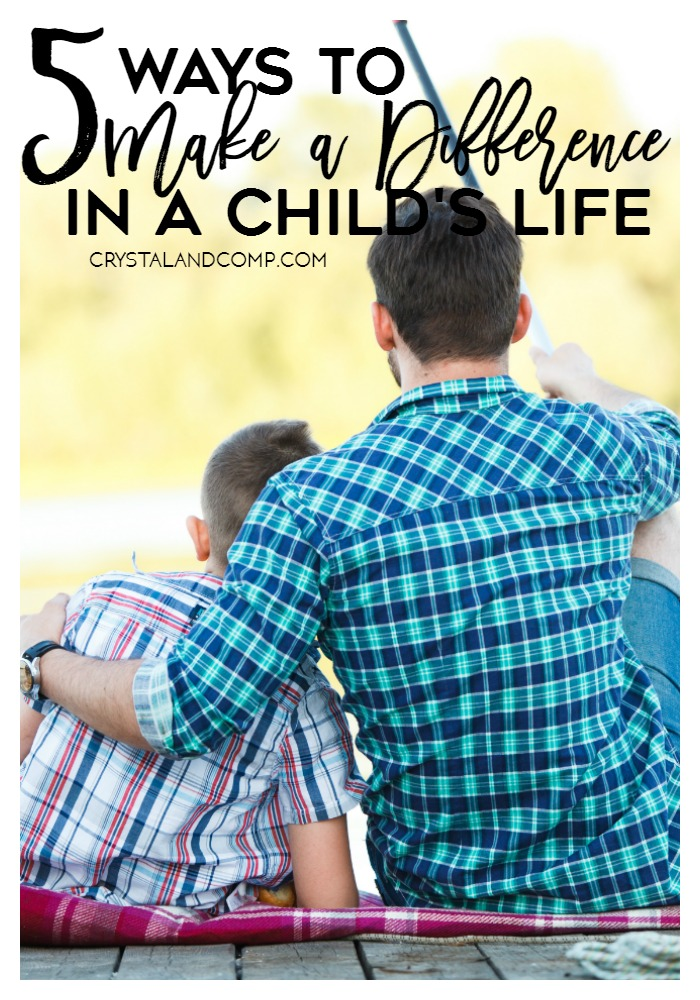 ways to make a difference in a childs life