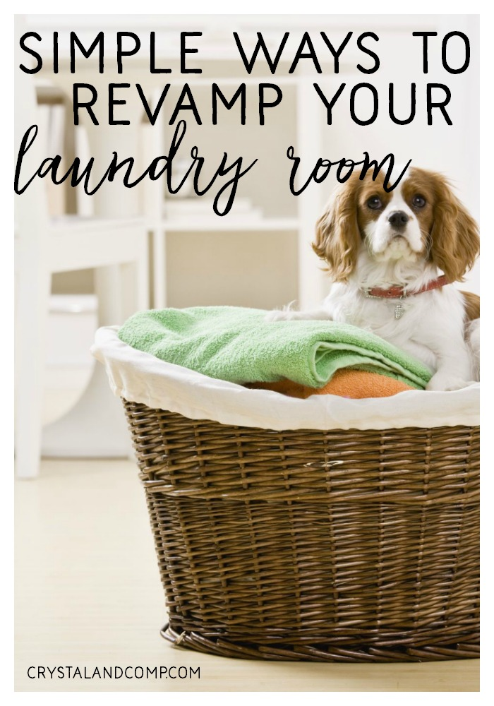 makeover your laundry room