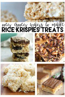 25 Ooey Gooey Ways to Make Rice Krispies Treats