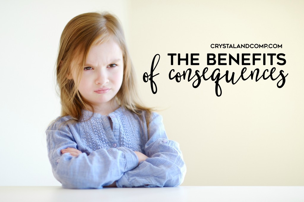 the benefits of consequences