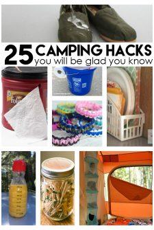 25 Genius Camping Hacks