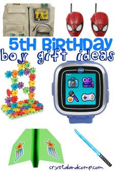 25 Totally Boy 5th Birthday Gift Ideas