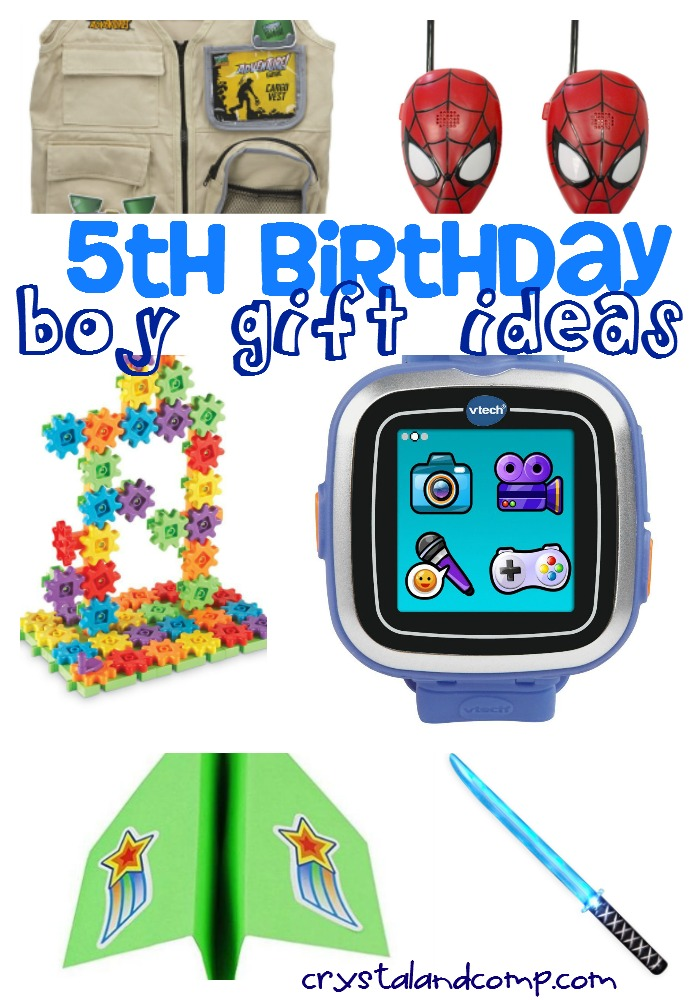 Boy Gift Ideas For 5th Birthday