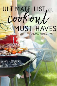 27 Things You Need For A Backyard Cookout