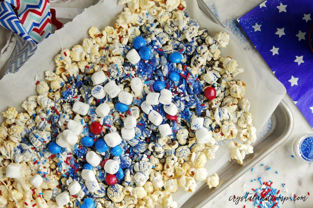 festive popcorn treat