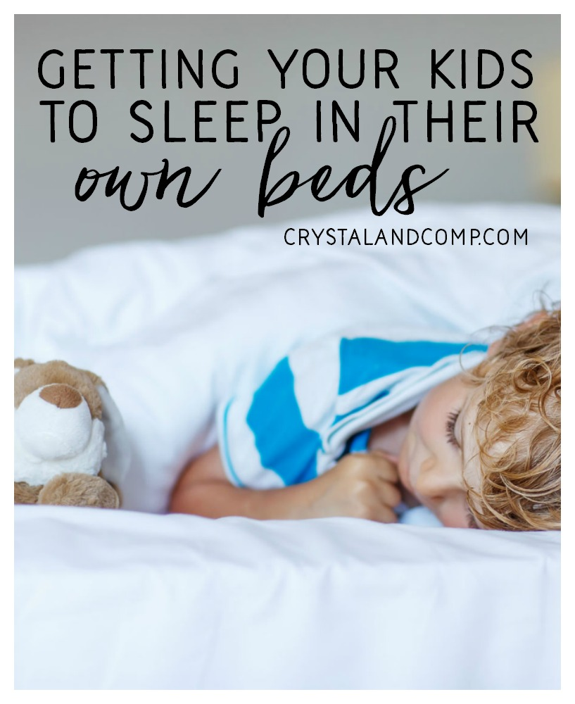 getting your kids to sleep in their beds