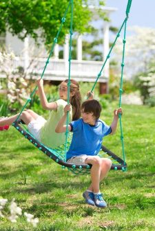 Now, This Is A Swing For Your Backyard!