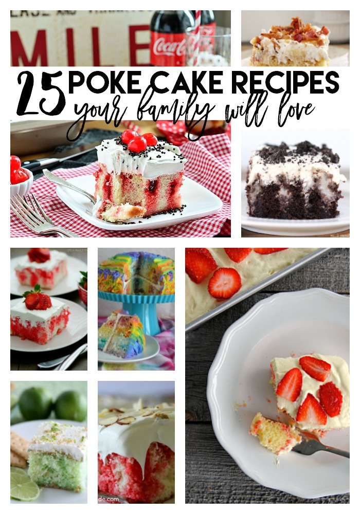 poke cake recipes