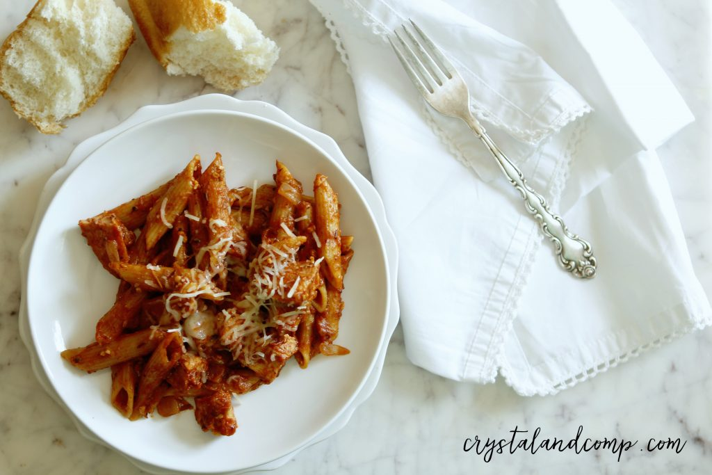 ragu chicken spaghetti one pot