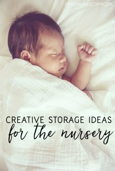 Clever Storage Solutions for the Baby Nursery