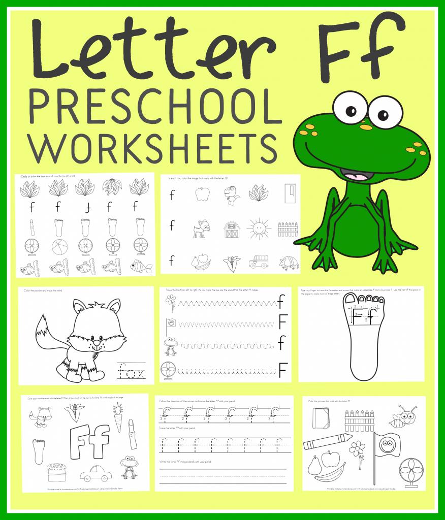 free letter f preschool worksheets instant download free homeschool deals. Black Bedroom Furniture Sets. Home Design Ideas