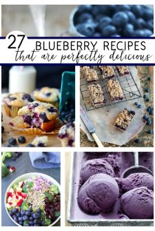 27 Beautiful Blueberry Recipes