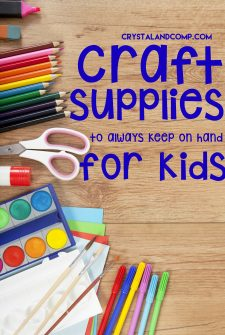 Craft Supplies Every Home Should Have For Kids