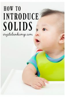 5 Tips For Starting Your Baby On Solid Foods