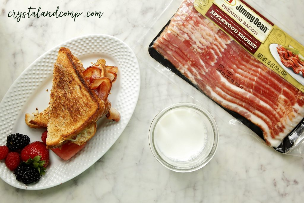 jimmy dean bacon sandwich 1