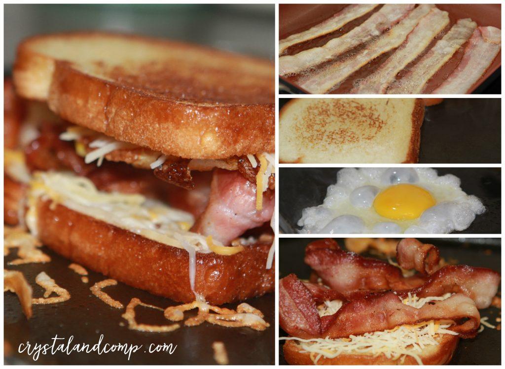 Ultimate Bacon and Egg Sandwich | CrystalandComp.com