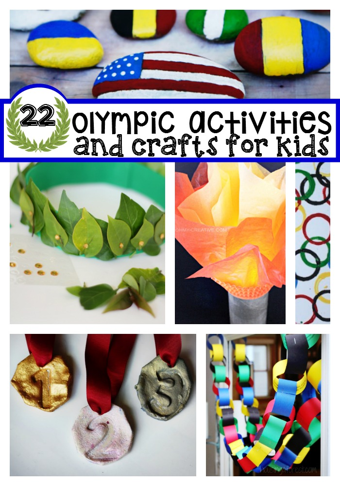 olympic activities and games for kids