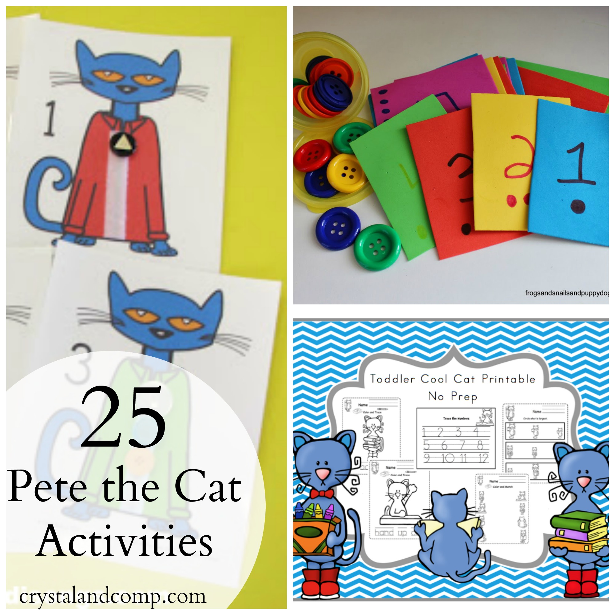 Pete The Cat Printables And Activities