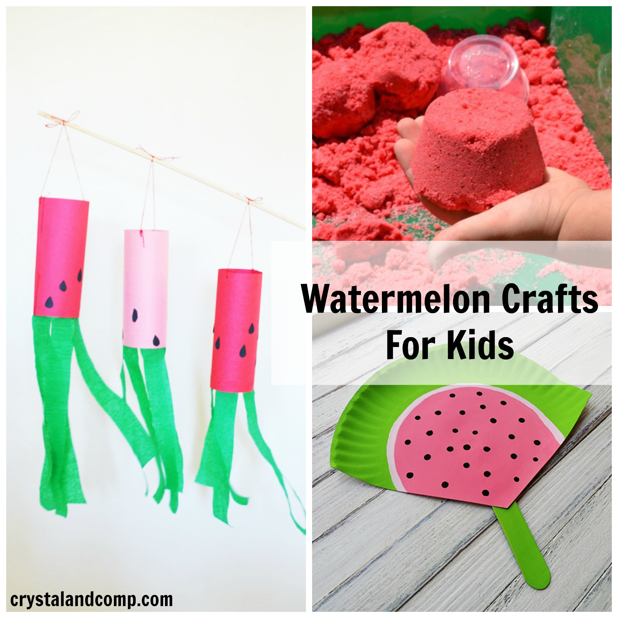 21 Watermelon Arts And Crafts For Kids Crystalandcomp Com