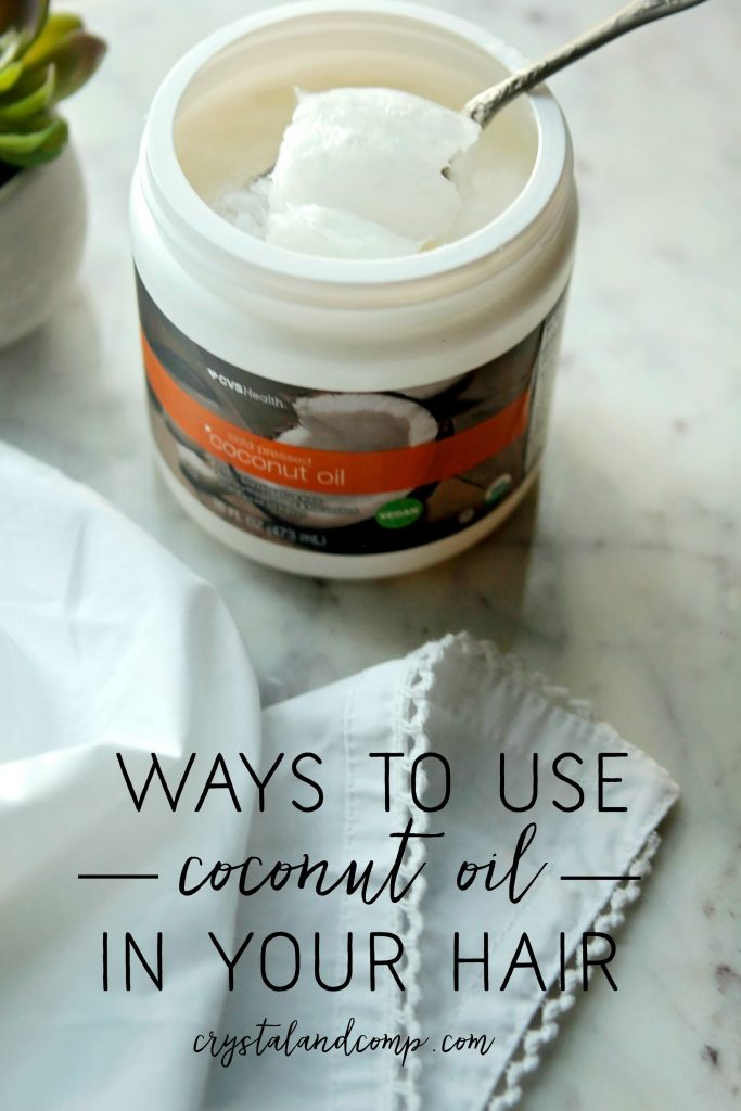 ways to use coconut oil on hair