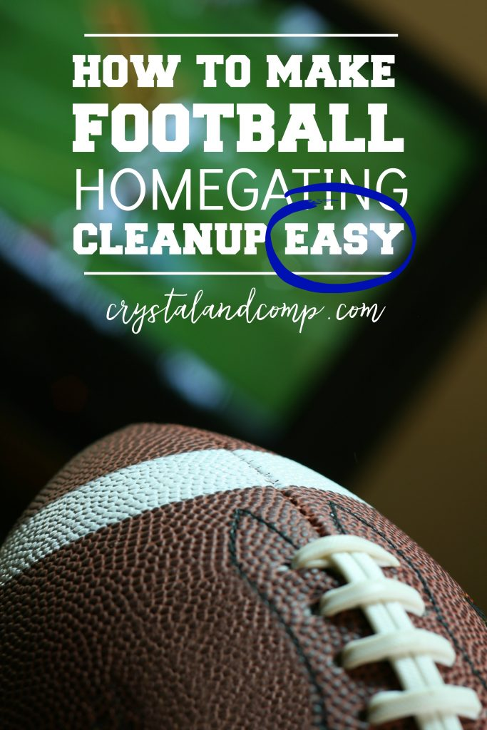 how-to-make-homegating-football-cleanup-easy