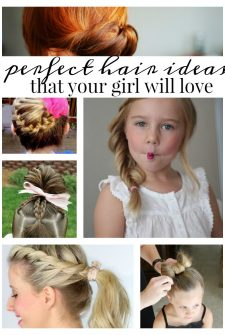 20 Ways Your Girl Will Love to Wear Her Hair