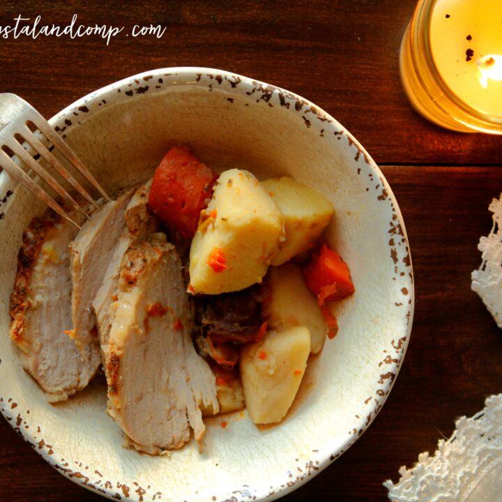 Pork Loin Filet in the Pressure Cooker