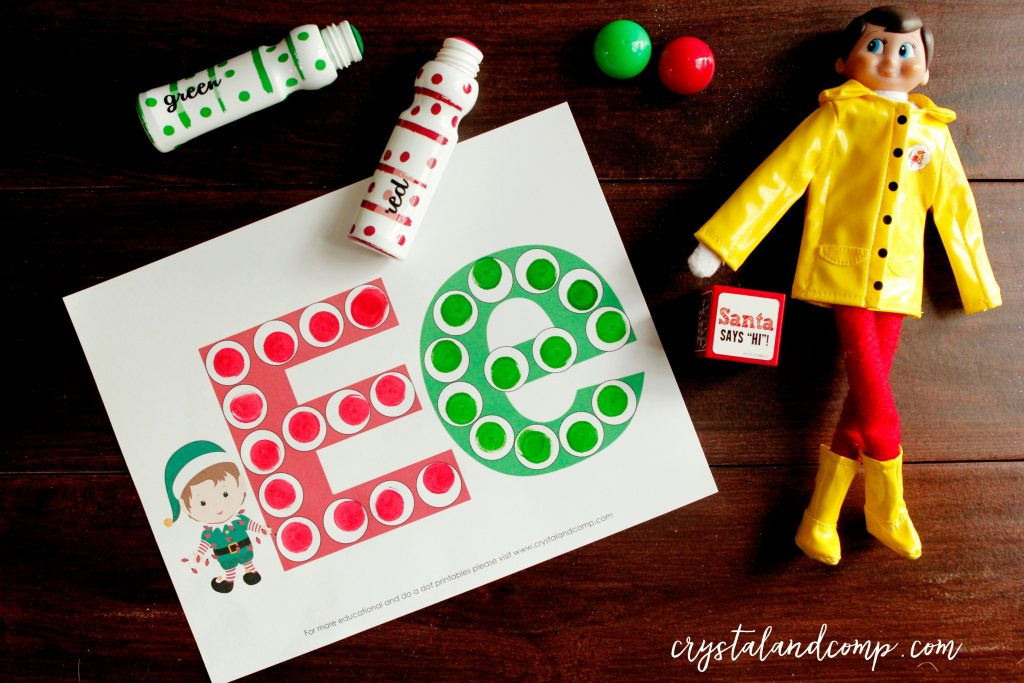 elf-on-the-shelf-do-a-dot-printable-letter-e