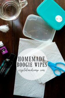 Homemade Boogie Wipes Recipe