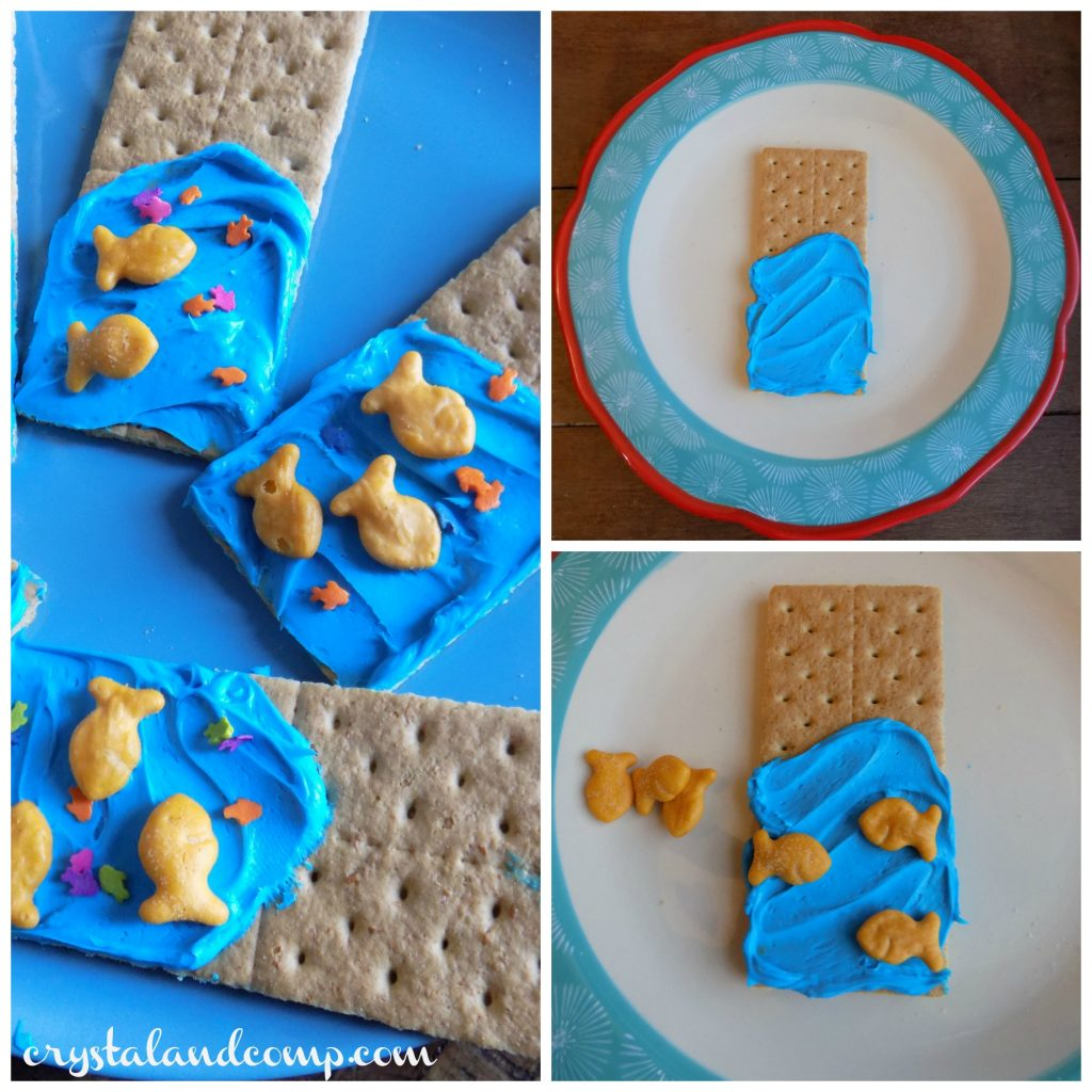 A Preschool Snack For U Is For Underwater (Letter Of The