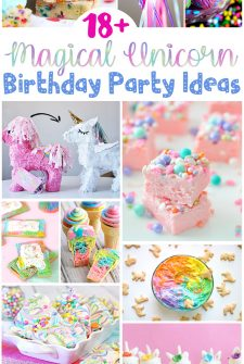 Over 18 Magical Unicorn Birthday Party Ideas