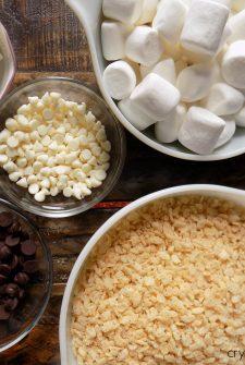 Zebra Rice Krispy Treats (Letter Z Snack)