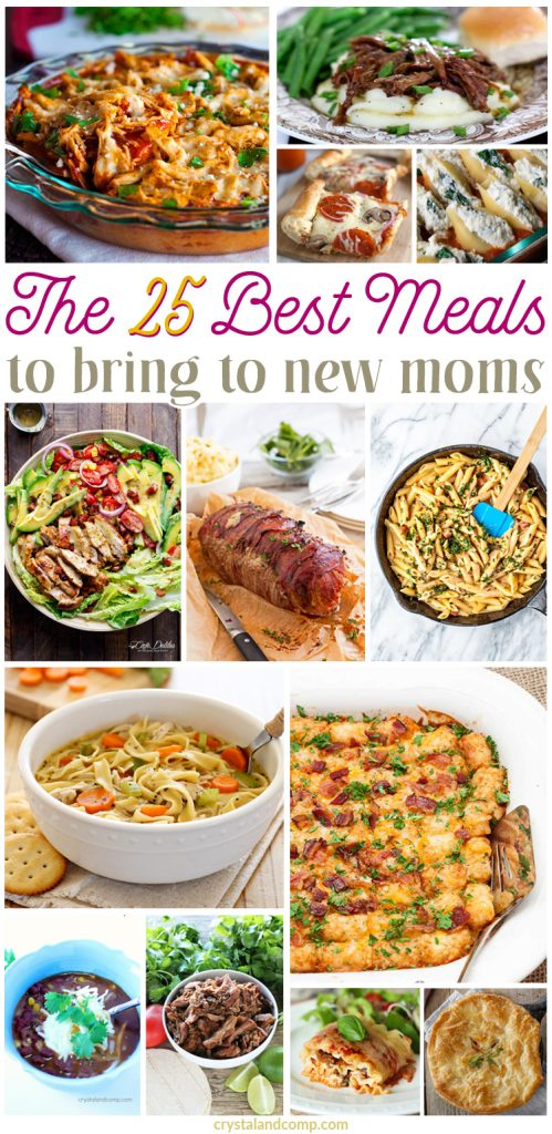 The Best Meals To Bring To New Moms