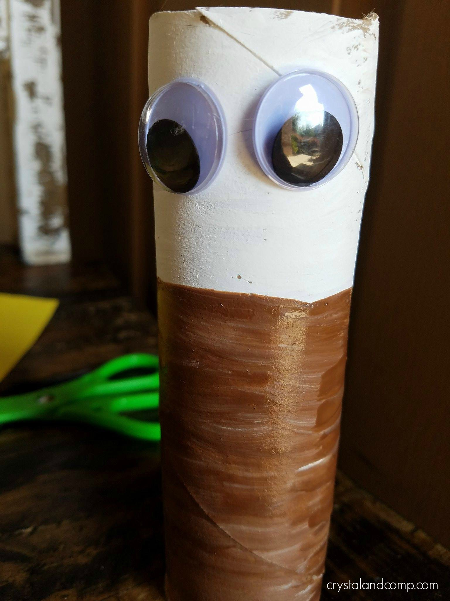 Eagle Toilet Paper Roll Craft