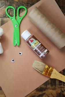 Goat Paper Roll Craft