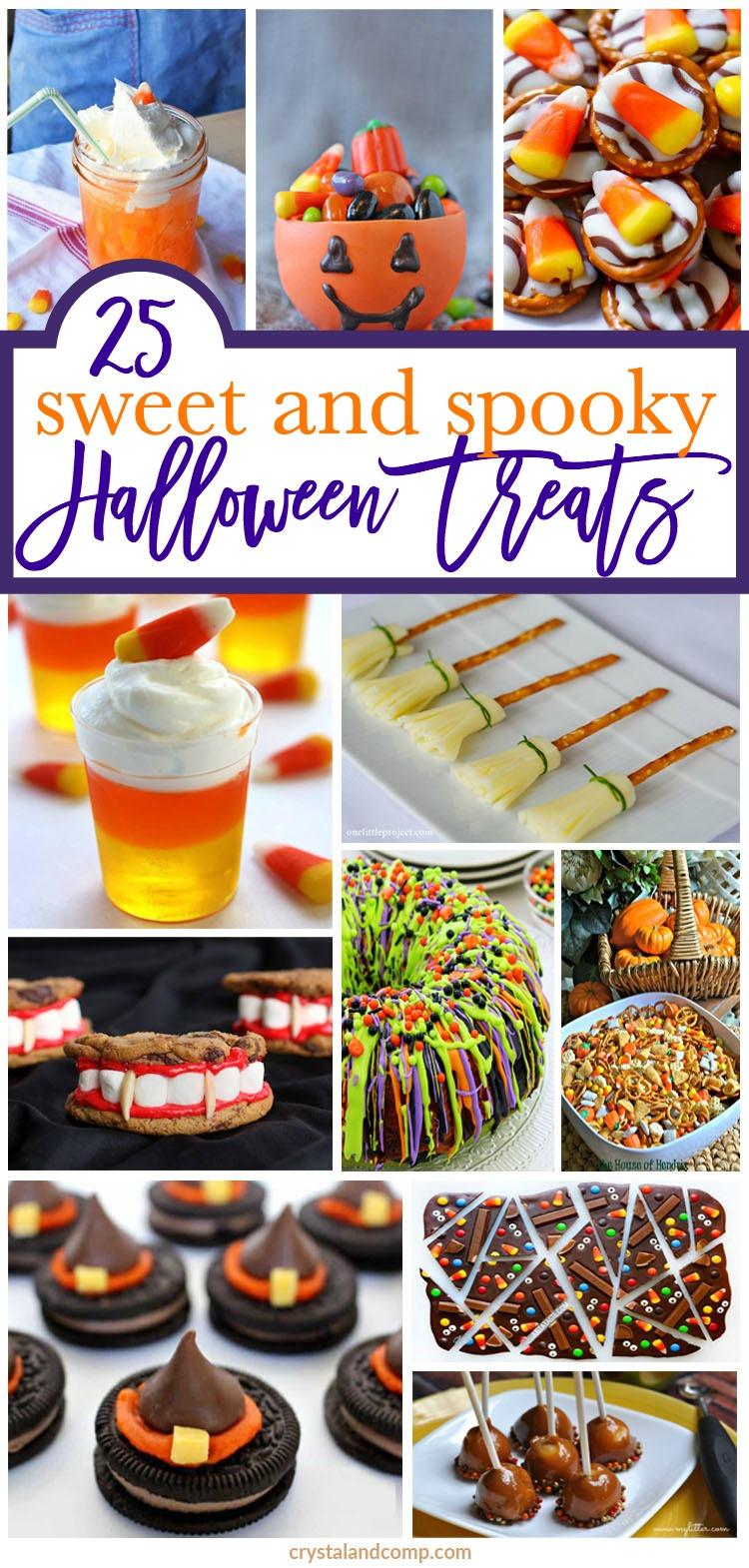 25 Sweet Halloween Treats