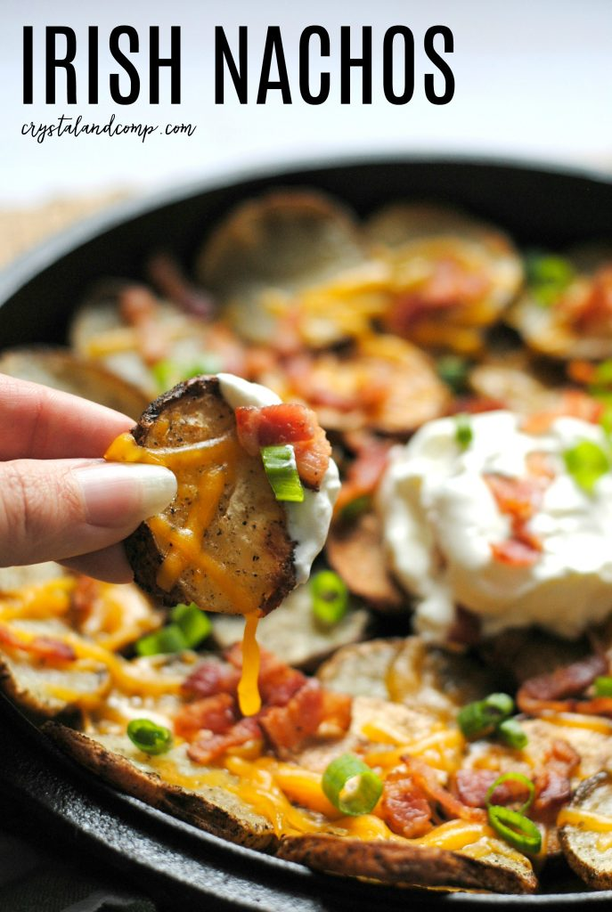 how to make Irish Nachos