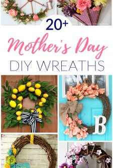 21 DIY Mother's Day Wreaths