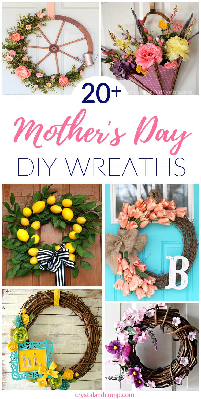 Spring Wreaths For Front Door Homemade