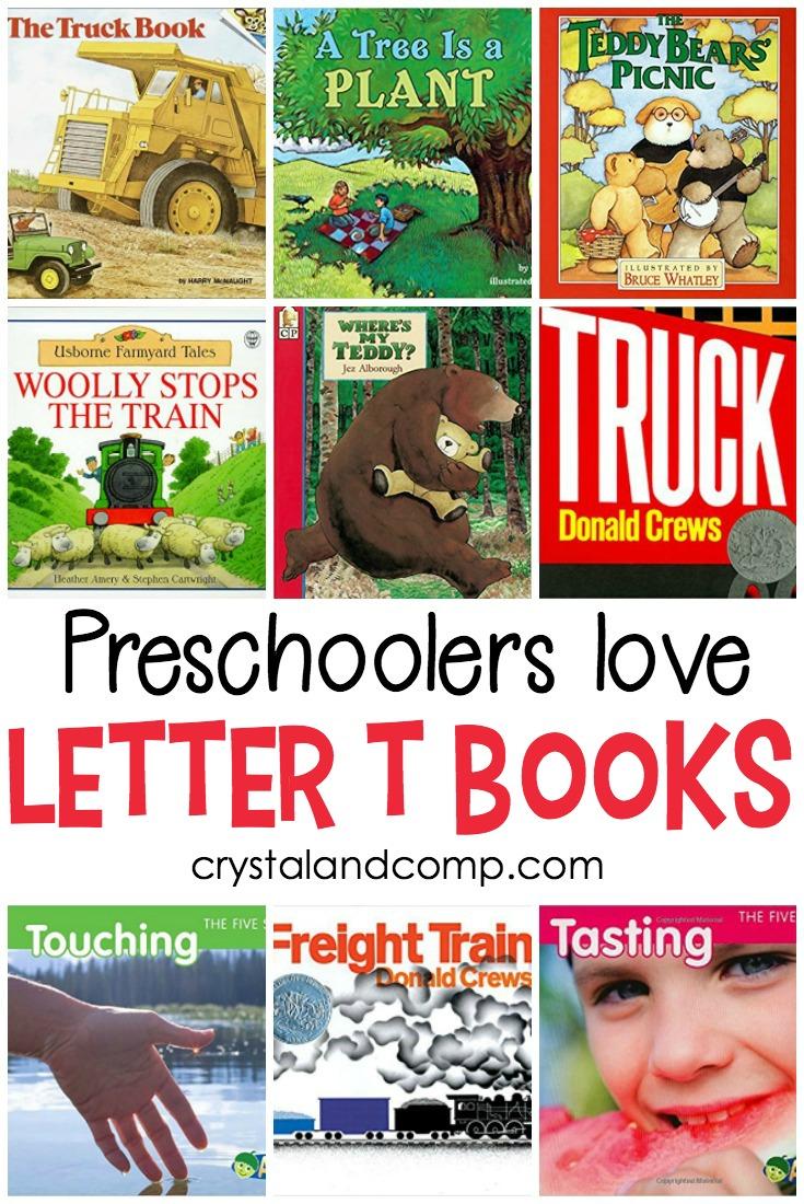 20 Letter T Books Preschoolers Love Crystalandcompcom