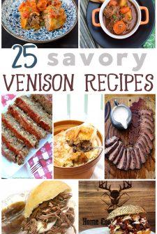 25 Savory Venison Recipes