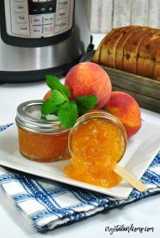 Homemade Peach Jam Recipe