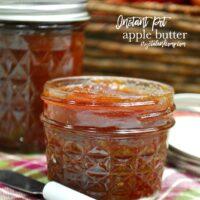 Super Easy Instant Pot Apple Butter