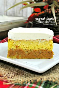 Magical Layered Pumpkin Cake